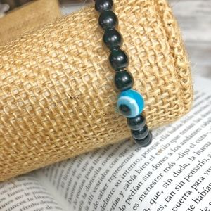 PROTECTION EVIL'S EYE ONYX OS BRACELET